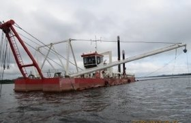Pipe diam. 550 mm, IHC Beaver 50, modular, with anchor booms and spud carriage, 2 units